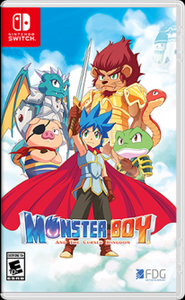 Monster Boy y el Reino Maldito
